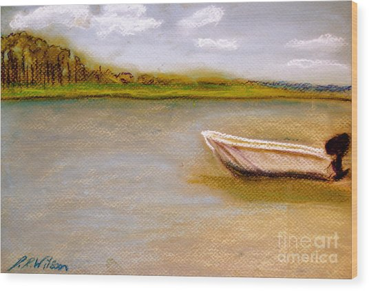 Tybee Island Afternoon On Alley 3 Wood Print