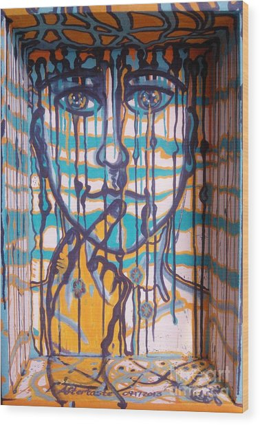 Aftertaste Wood Print by Adriana Garces