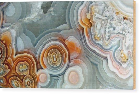 Agate 4 Micro Wood Print