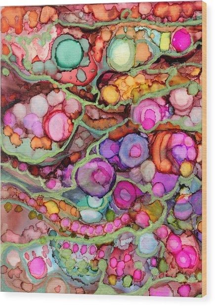 Agate Beach II Wood Print