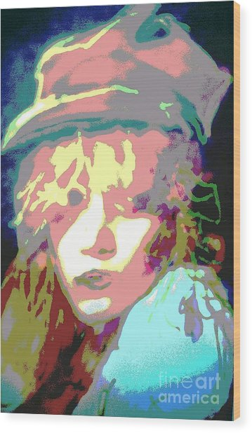 Age Of Aquarius Wood Print