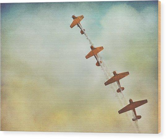 Air Show #40 Wood Print