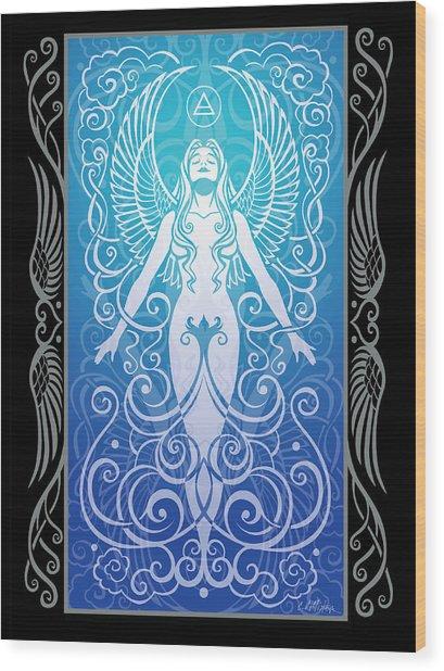 Air Spirit V.2 Wood Print by Cristina McAllister