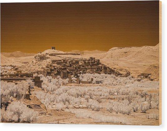 Ait Benhaddou Wood Print
