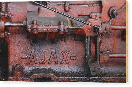 Ajax Engine Wood Print