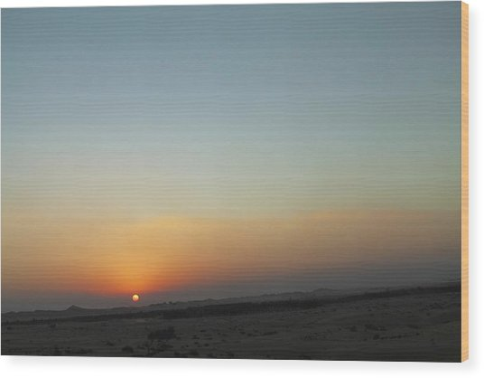Al Ain Desert 2 Wood Print