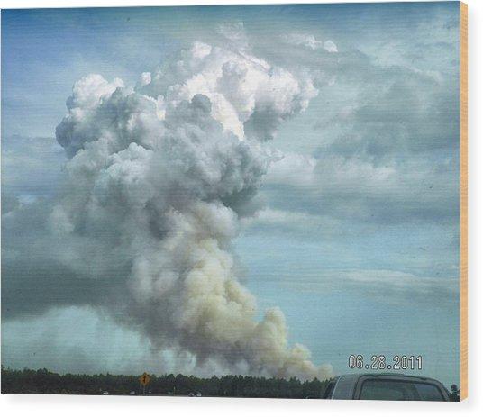 Alabama Fire Wood Print