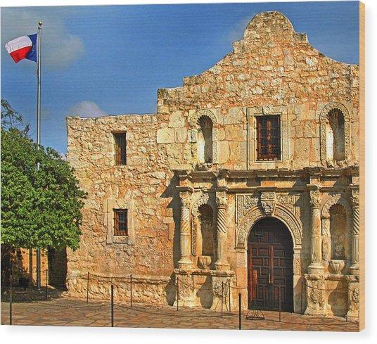 Alamo 0002 Wood Print
