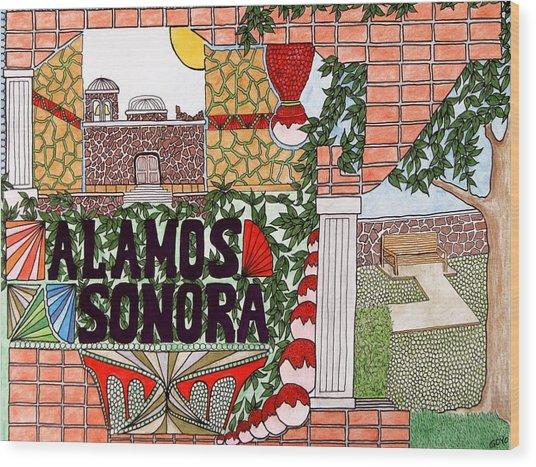 Alamos Wood Print