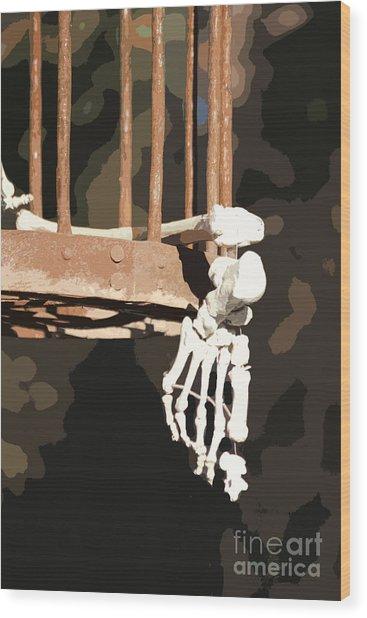 Alas Poor Yorik Wood Print by Joe Jake Pratt