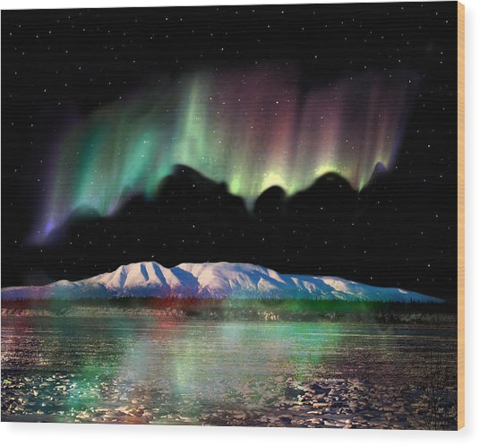 Alaska Aurora Sleeping Lady Da 100 Digital Art By Dianne