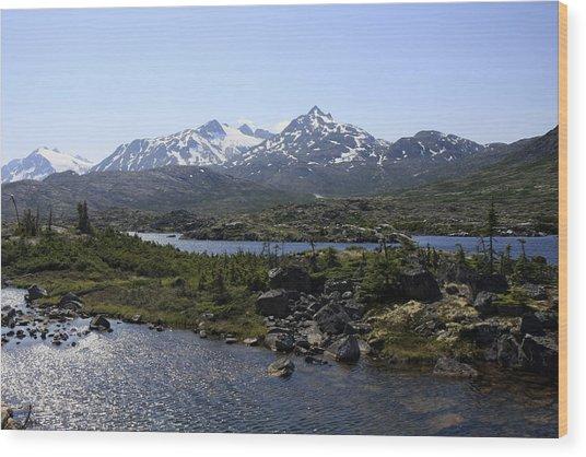 Alaska Landscape Wood Print