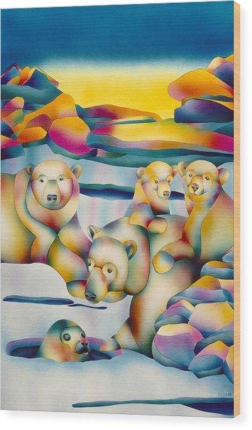 Alaska Paradise  Wood Print
