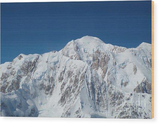Alaska Peak Wood Print