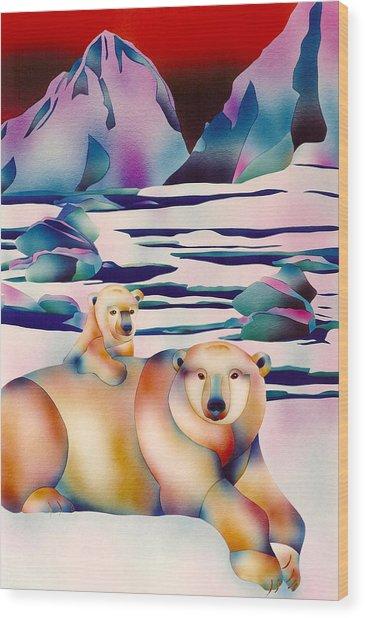 Alaska Spirit Wood Print