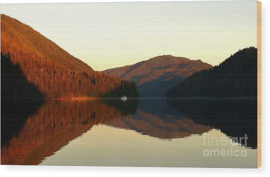 Alaskan Anchorage Wood Print