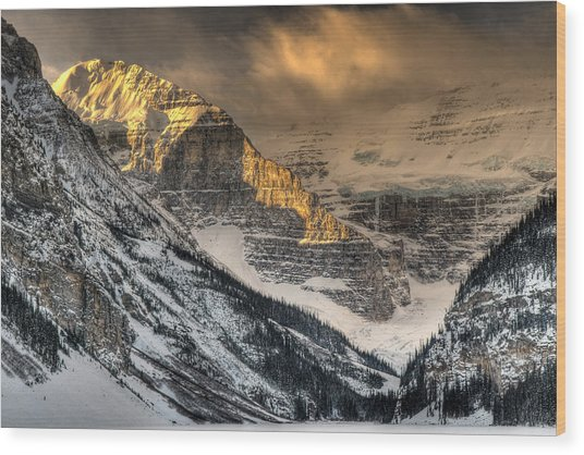 Alberta Sunrise Wood Print