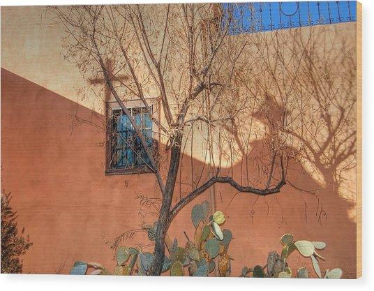 Albuquerque Mission Wood Print