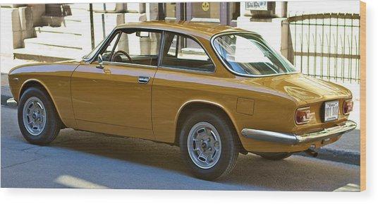 Alfa Romeo Wood Print