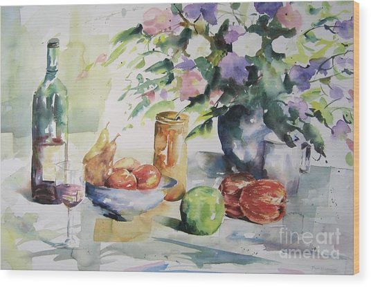 Alfresco Wood Print