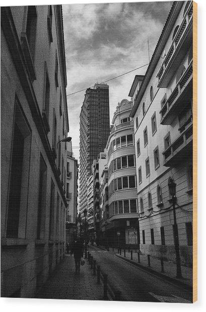 Alicante  Wood Print