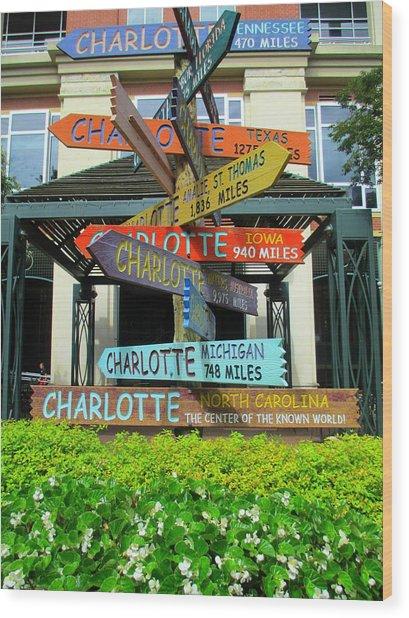 All Charlottes Wood Print