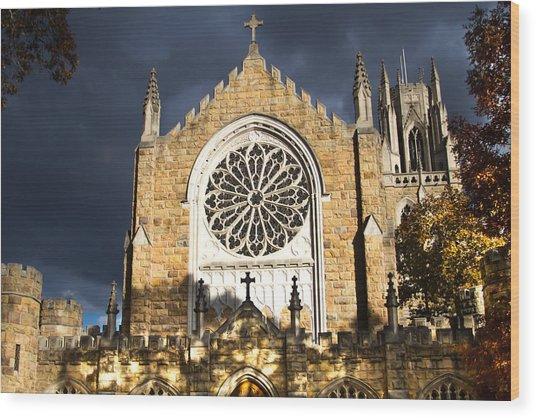 All Saints' Chapel Wood Print