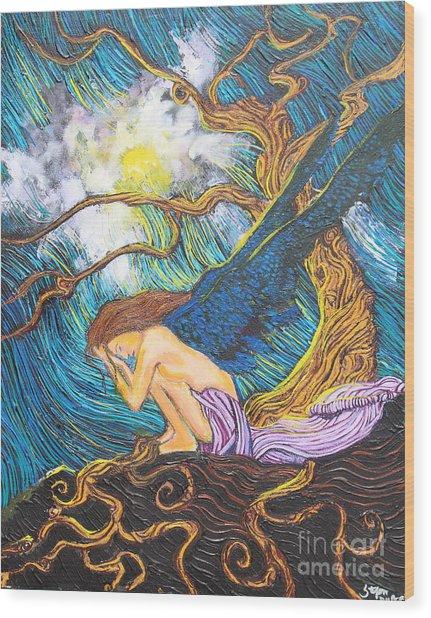 Allayah Wood Print