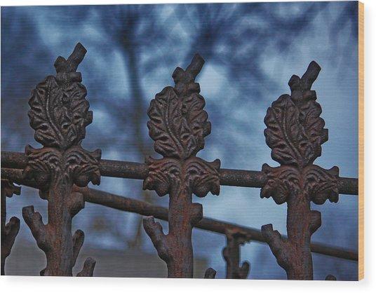 Alliance Wood Print