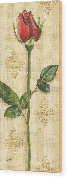 Allie's Rose Sonata 1 Wood Print