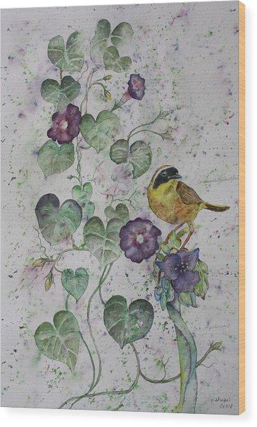Almost Botanical Wood Print