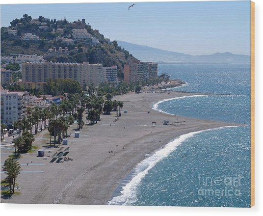 Almunecar Beach - Andalucia - Spain Wood Print