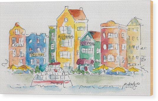 Along Saint Anna Bay Wood Print