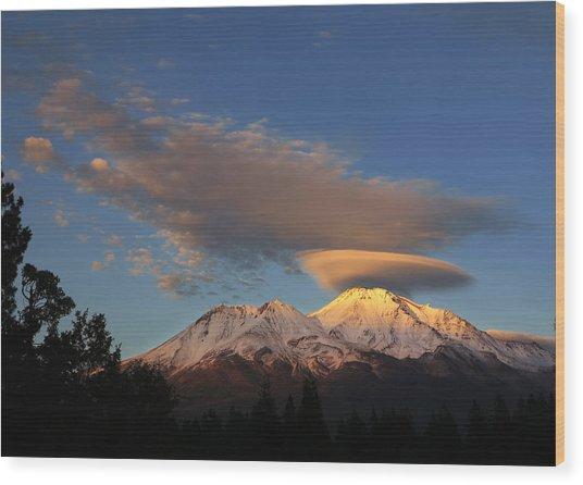Alpenglow Lenticular Wood Print by Jeff Leland