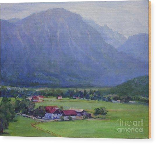 Alpine Treasure Wood Print