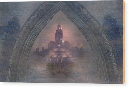 Alqualonde Castle Wood Print