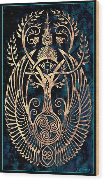 Altar #1 Wood Print by Cristina McAllister