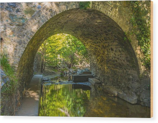 Alvarado Bridge Wood Print