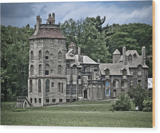 Amazing Fonthill Castle Wood Print