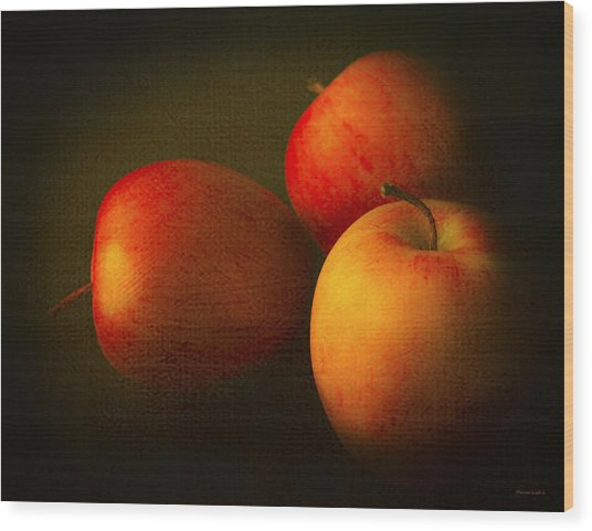 Ambrosia Apples Wood Print
