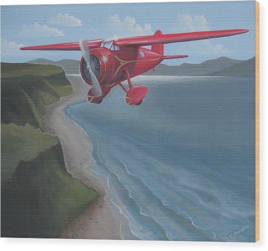 Amelia's Lockheed Vega Wood Print