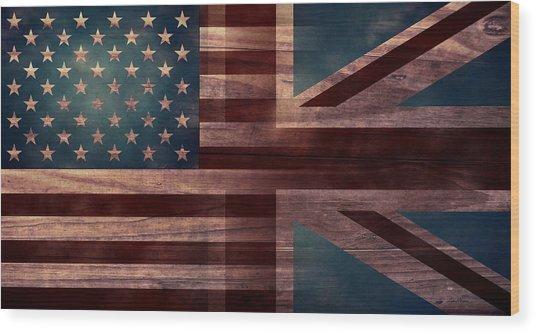 American Jack IIi Wood Print