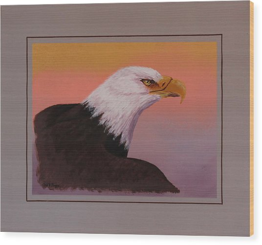 American Legacy Wood Print