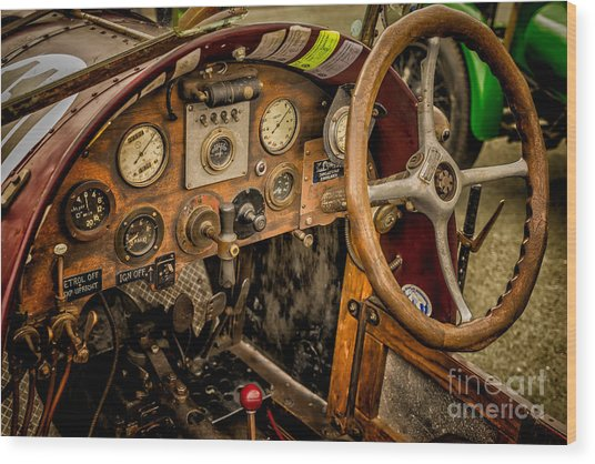 Amilcar Riley Special  Wood Print