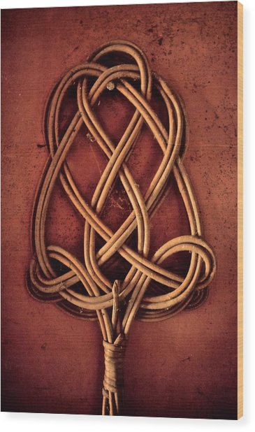 An Element Of Domestication Wood Print