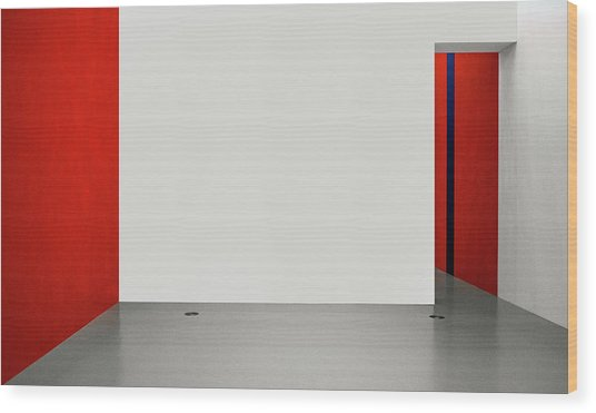 An Empty Room Wood Print by Inge Schuster