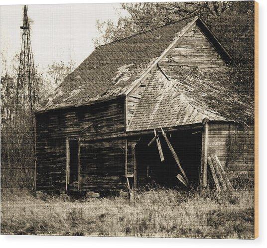 An Era Past Wood Print