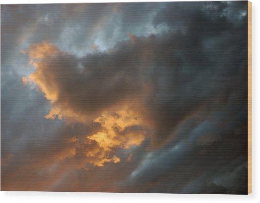 .....an Ill Wind That Blows Wood Print