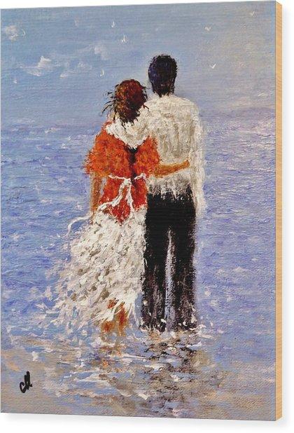 An Ocean Of Love.. Wood Print