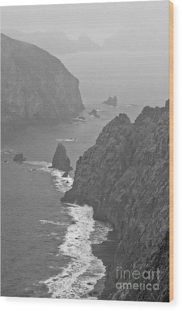 Anacapa Mist Wood Print